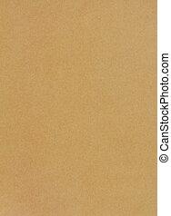 papel marrón, hoja, plano de fondo