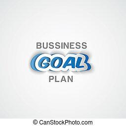 papel, meta, plano negócio