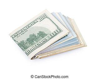 papel moneda, primer plano