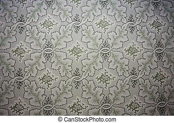 papel parede, fashioned velho