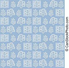 papel parede, inverno árvore