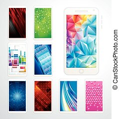 papel parede, tecnologia