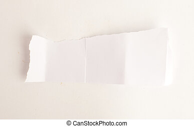 papel, pedaço