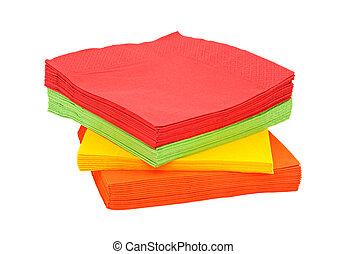 papel, servilletas