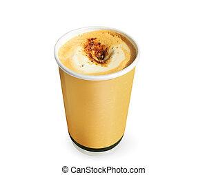 papel, tazas de café