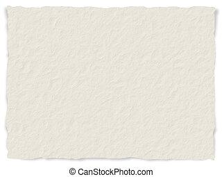 papel, textura, desfiado, bordas