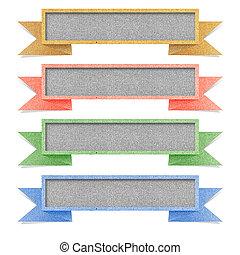 papel, textura, tag, reciclado, papel, branco, fundo