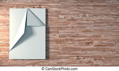 Paper Airplane Fold and Fly