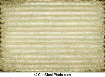 Paper and bamboo woven grunge background - Paper and bamboo...