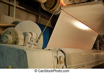 Paper and pulp mill - Factory - Paper and pulp mill - Detail...