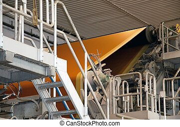 Paper and pulp mill - Factory, Plant - This paper mill is a ...