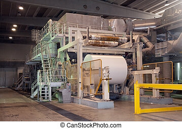 Paper and pulp mill - Factory, Plant - This paper mill is a...