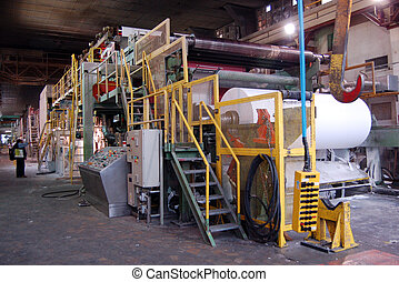 Paper and pulp mill - This paper mill is a factory devoted ...