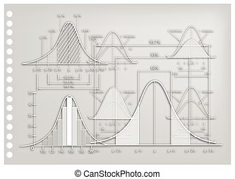 Paper Art of Standard Deviation Diagrams with Sample Size Charts
