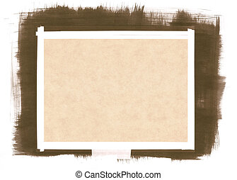 Paper Background with Brushstrokes