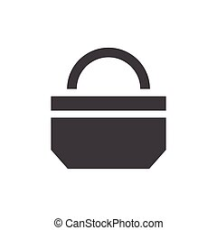 paper bag icon design