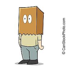 Paper bag man