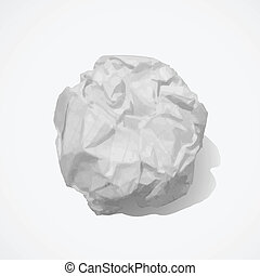 Paper ball - Creative design of paper ball