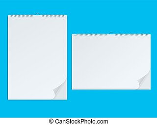 Paper notebook and clean personal memo book - Paper blank...