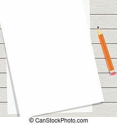 paper blank sheet light