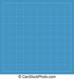Paper blueprint background.