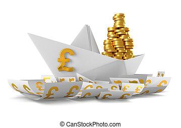Paper boat GBP