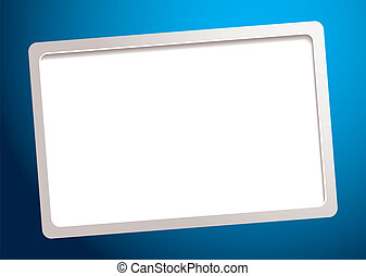 paper business card template