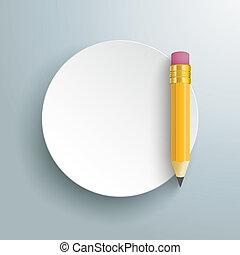 Paper Circle Pencil
