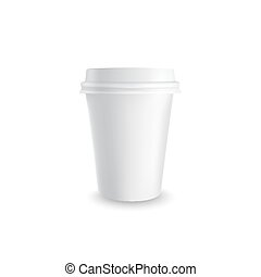 Paper coffee cup.