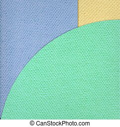 Paper color cardboard background - Vector paper background...