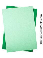paper., coloreado, hojas