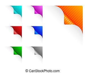 Paper corners