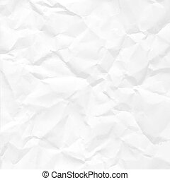 Paper crumpled seamless texture vector office background.