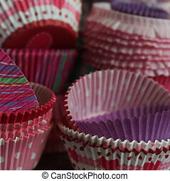 Paper cup for muffins