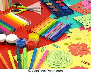 paper-cut, bambini