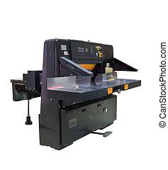 Paper-cutter.