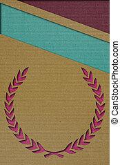 Paper cutting art background