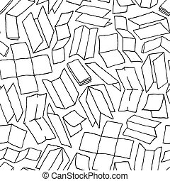 Paper design seamless pattern