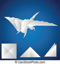 paper., dragão