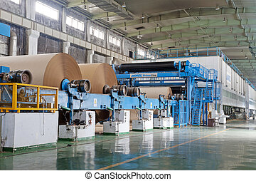 paper enterprise production line in china