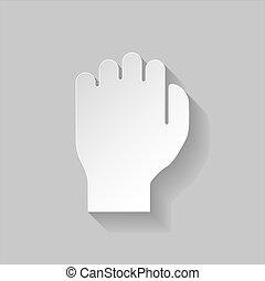 Paper fist