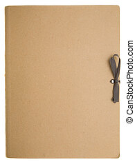 Paper Folder - Blank folder on a white background
