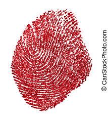 paper., fondo., rojo blanco, macro., imprint., sangriento, ...
