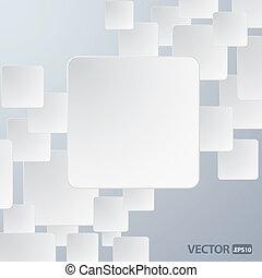 paper frame - vector illustration of paper frame background...