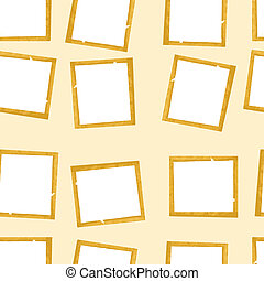 paper., frame, vector, oud, seamless