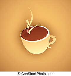 Paper Hot Coffee