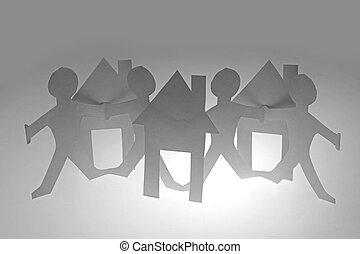 Paper Human