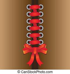 Paper lace ribbon
