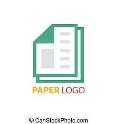 paper logo vector