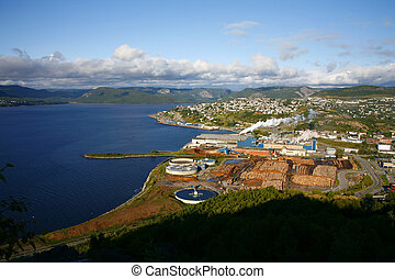 Paper Mill - Pulp and Paper mill in Corner Brook,...